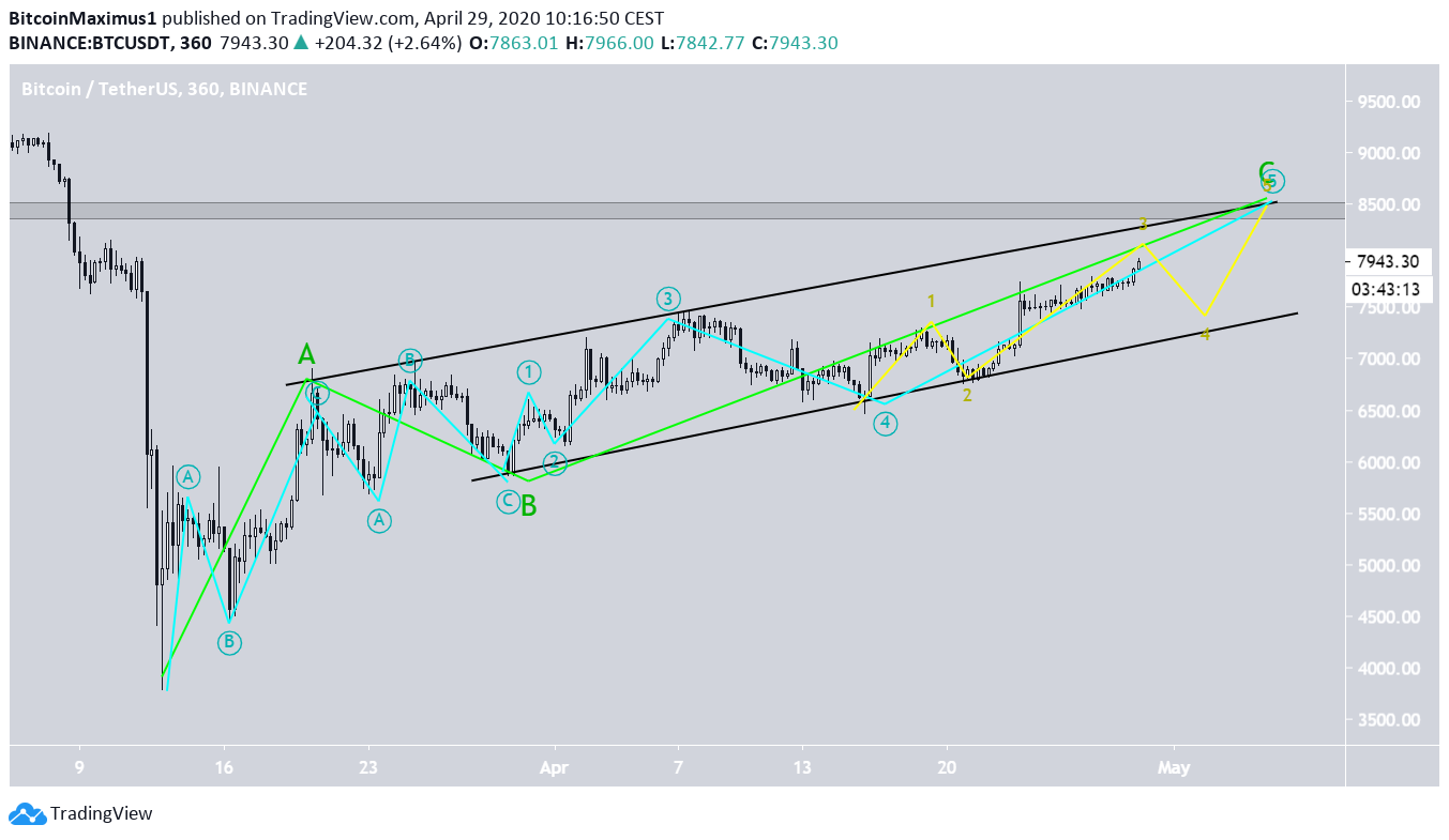 Bitcoin's Wave Count